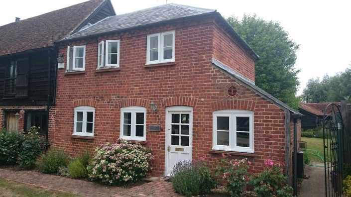 Timber Casement Windows using Toughened Safety Glazing